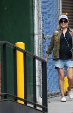 Jenny Mollen Is spotted walking her pup around Tribeca NYC