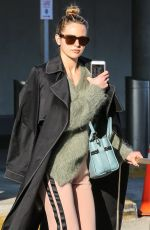 Jesinta Franklin Lands in NY just in time to for NYFW