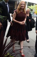 Jessica Chastain Arrives at TIFF event in Toronto