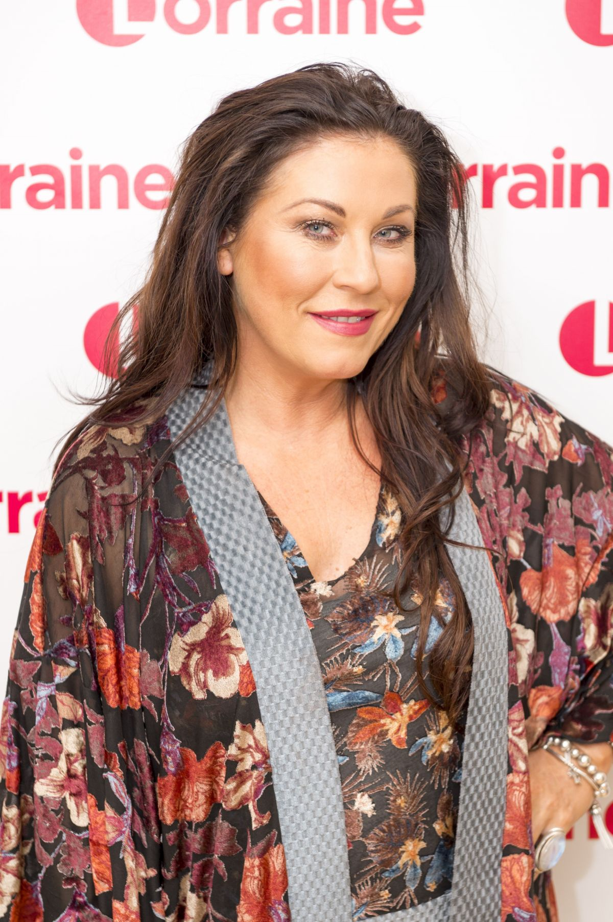 Jessie Wallace At 'Lorraine' TV show, London - Celebzz ...
