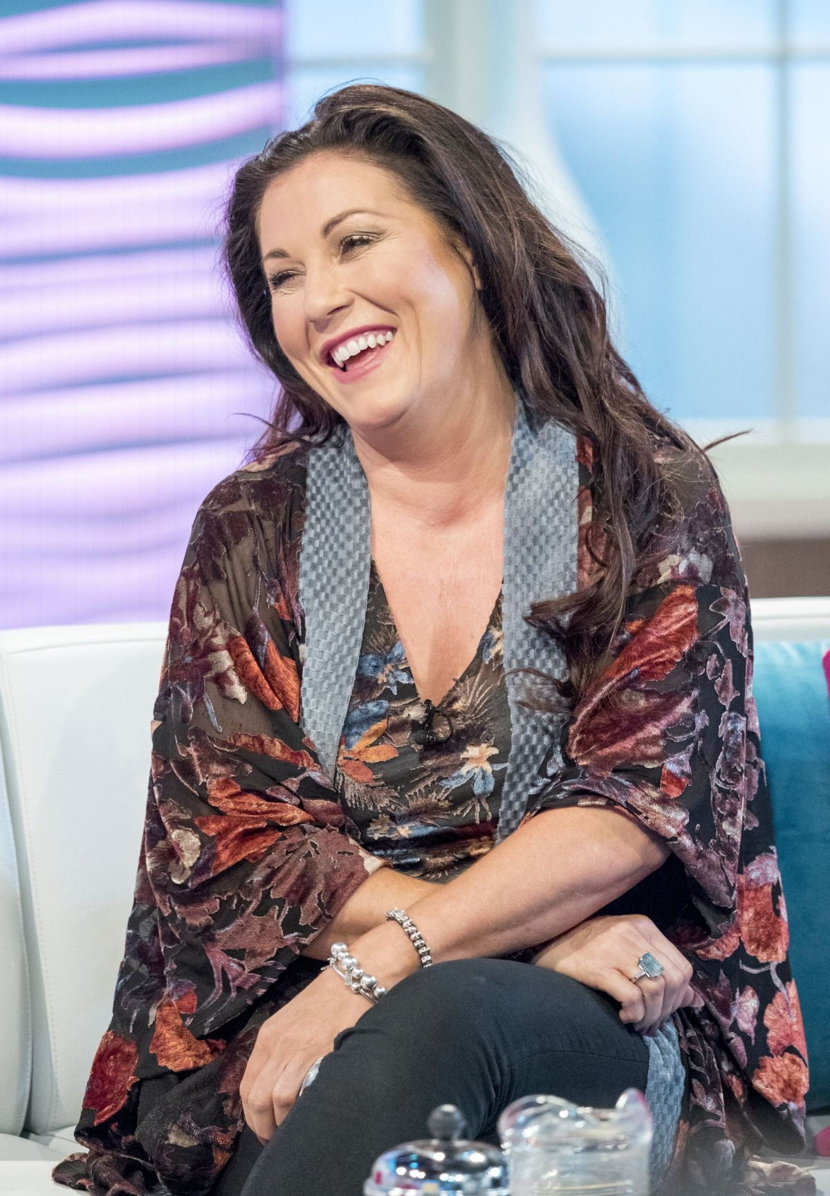 Jessie Wallace At 'Lorraine' TV show, London | Celebs by ...