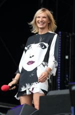 Jo Wiley At BBC Radio 2 in the Park,London