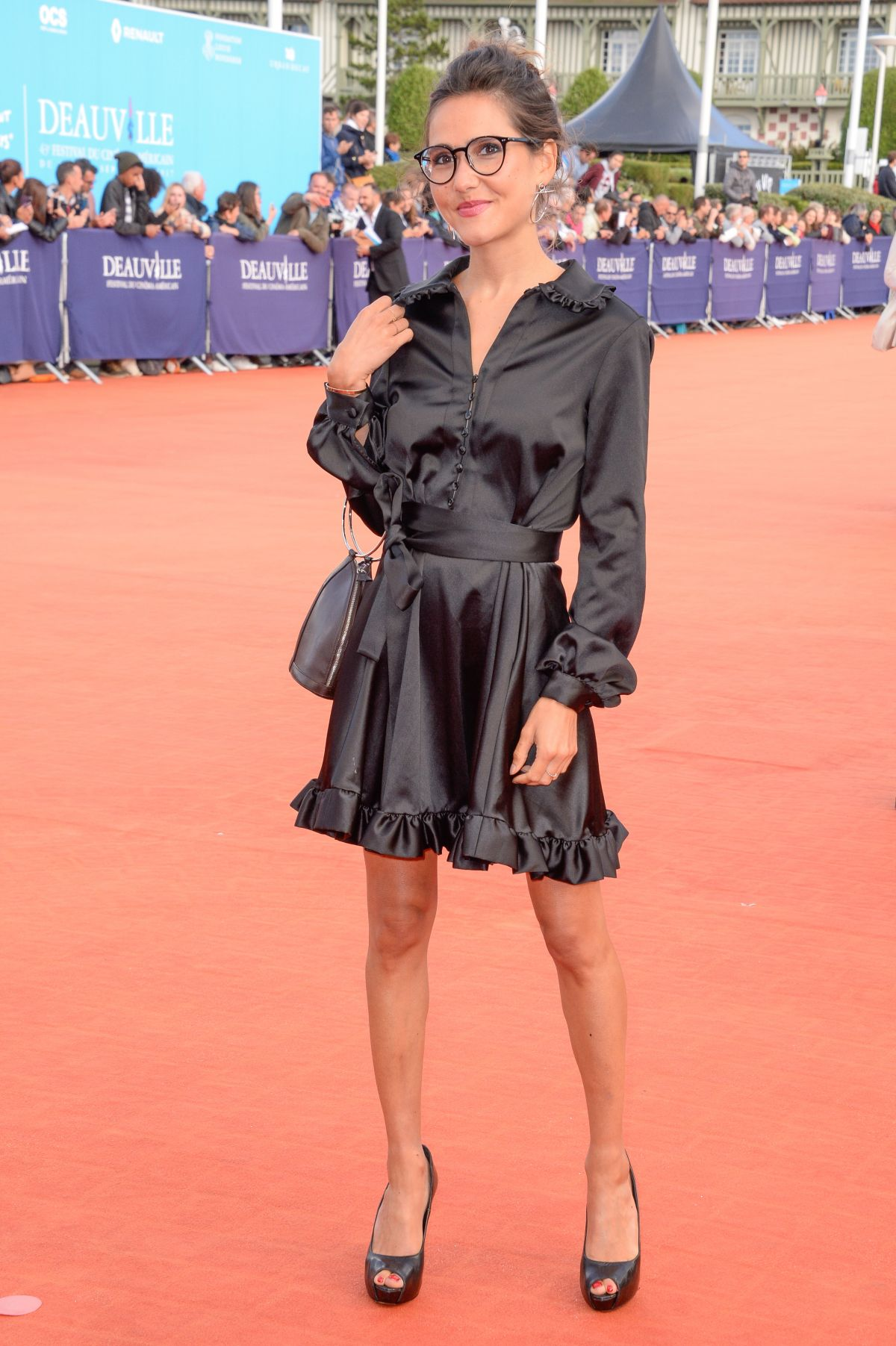 Joyce Jonathan At Closing Ceremony of the 43rd Deauville American Film Festival