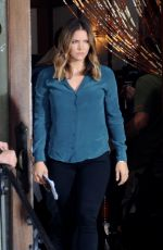 Katharine McPhee On set of