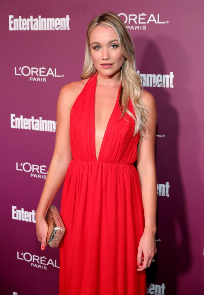 Katrina Bowden At 2017 Entertainment Weekly Pre-Emmy Party in West Hollywood