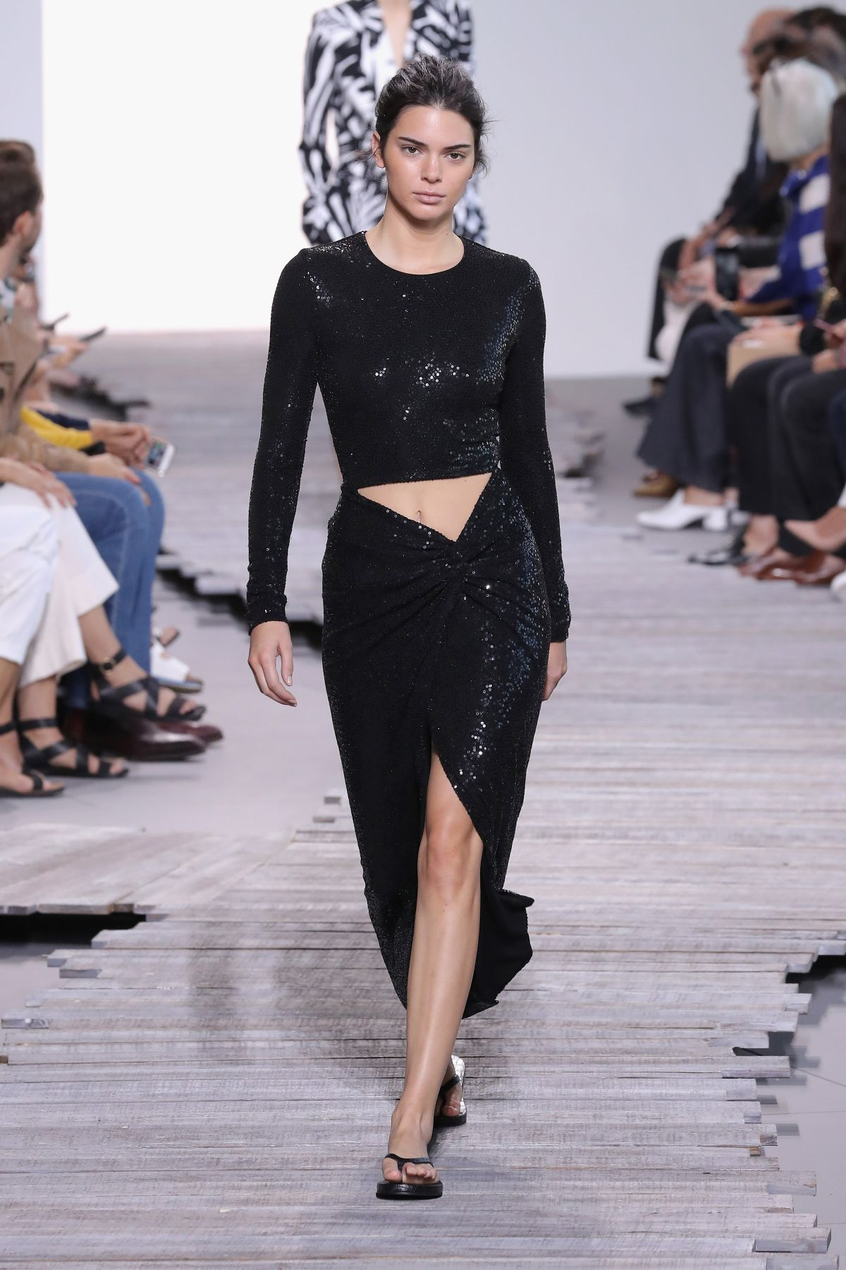 Kendall Jenner Walks The Runway For Michael Kors Fashion