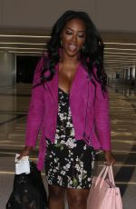 Kenya Moore Departs from LAX