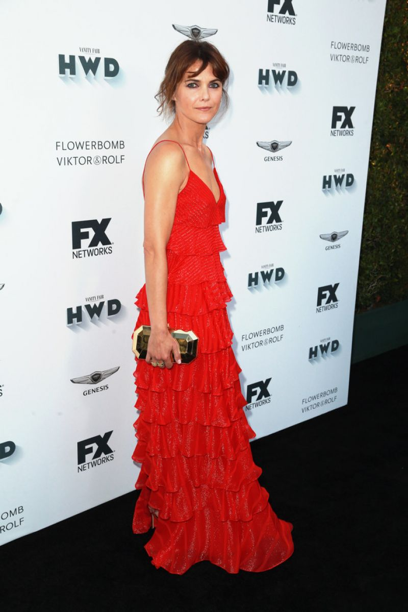 Keri Russell At FX and Vanity Fair Emmy Celebration in ...