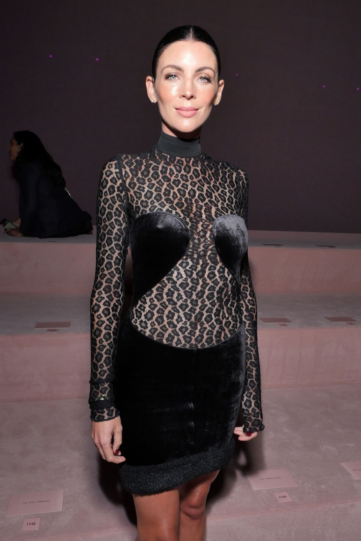 Liberty Ross At Tom Ford show, Spring Summer 2018, New York Fashion Week