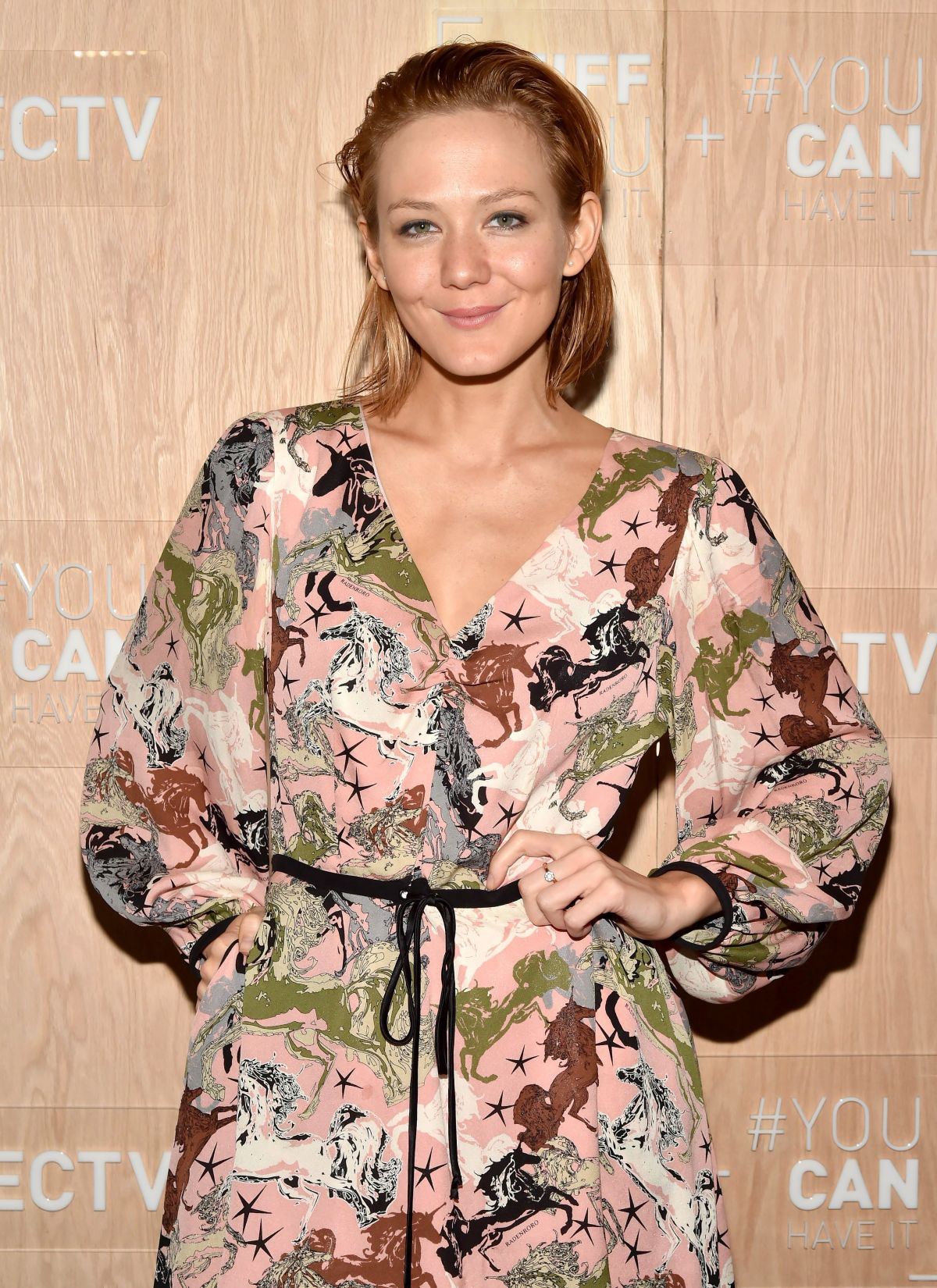 Louisa Krause At Celebrity and Tastemaker lunch, TIFF Momofuku Noodle Bar Toronto presented by DIRECTV, Day 2, Canada