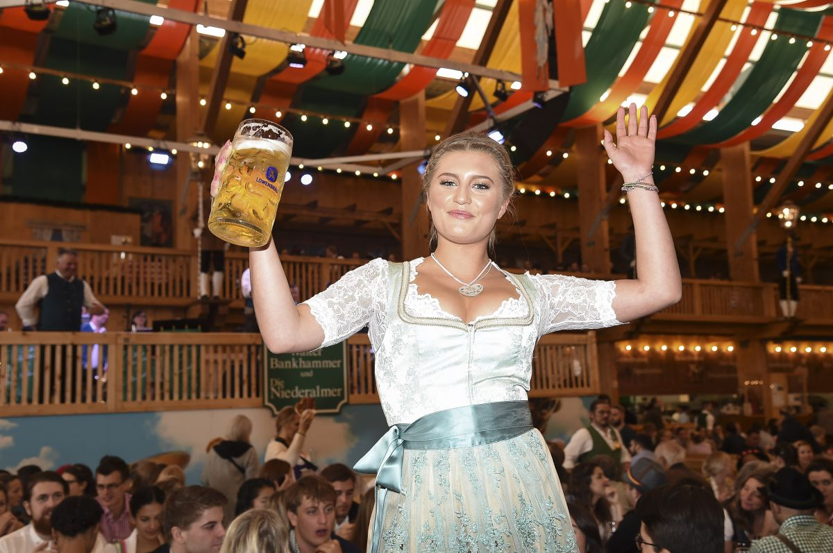 Luna Schweiger At Village Wiesn At Oktoberfest In Munich