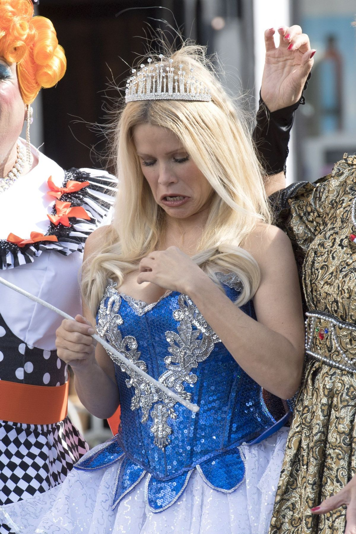 Melinda messenger snow white panto photocall in southsea portsmouth - 2019 year