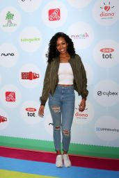 Mishael Morgan At 6th Annual Red Carpet Safety Awareness Event at the Sony Pictures Studio, Los Angeles