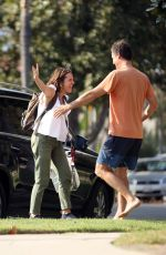 Molly Shannon Excited to see her family after a trip