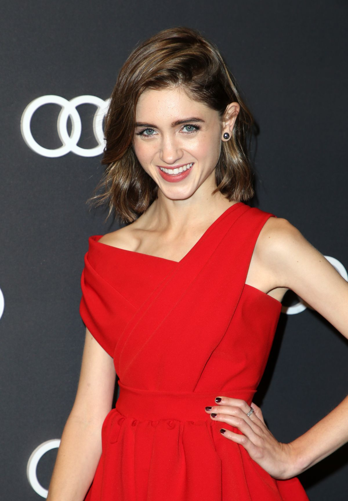 Natalia Dyer At Audi Celebrates The 69th Annual Emmys In
