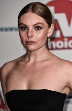Nell Hudson At TV Choice Awards at The Dorchester in London