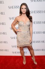 Nia Sanchez At Sherri Hill Show - New York Fashion Week