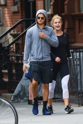 Nina Agdal At lunch in NYC