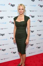 Pamela Anderson Attends the BGC Partners Charity Day commeorating 9/11 at BGC Partners in New York