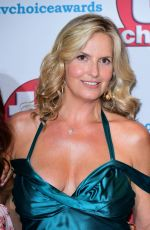 Penny Lancaster At TV Choice Awards at The Dorchester in London