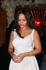 Rihanna Leaving her 3rd Annual Diamond Ball at Cipriani Wall Street