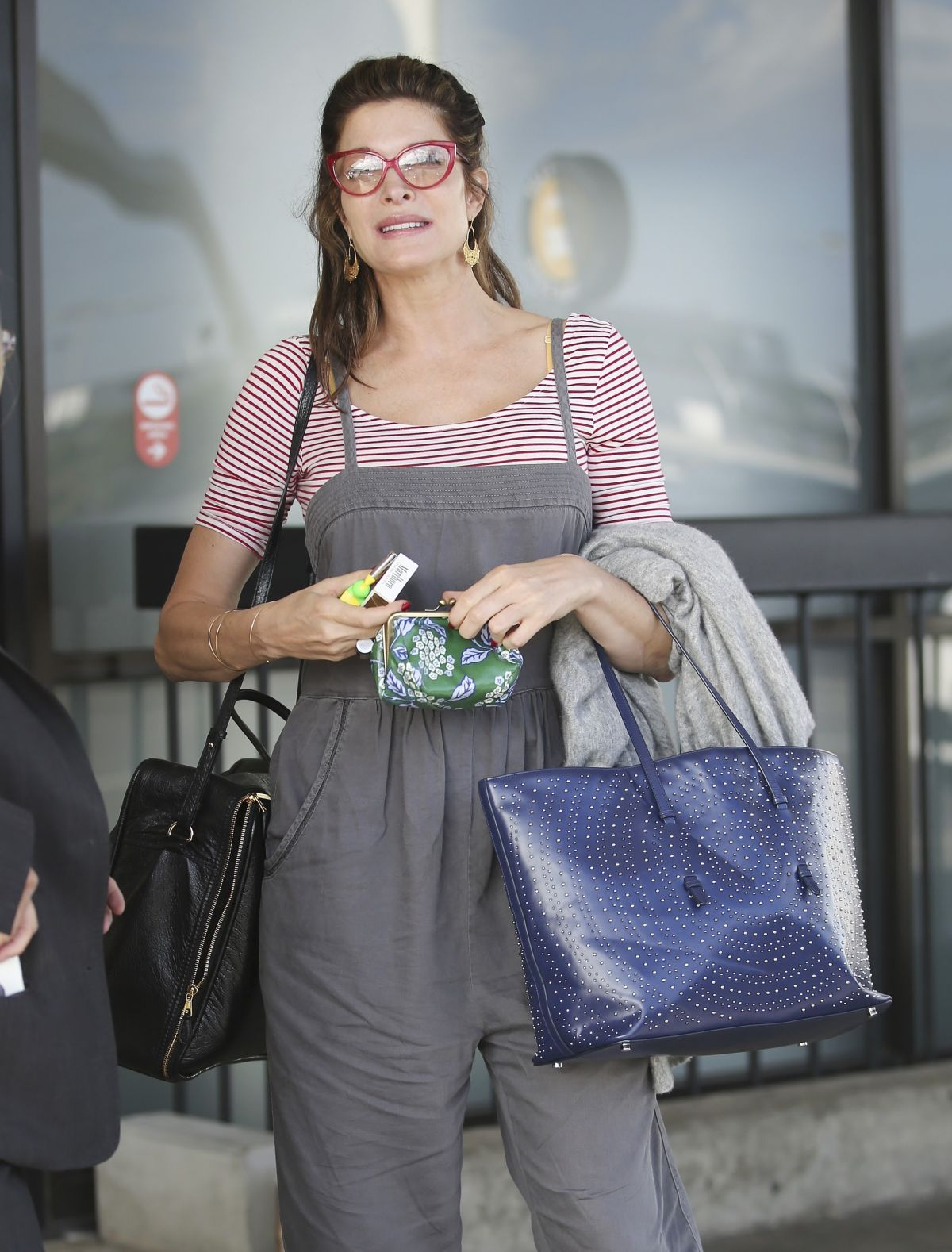 Stephanie Seymour Is seen at LAX airport in Los Angeles ...