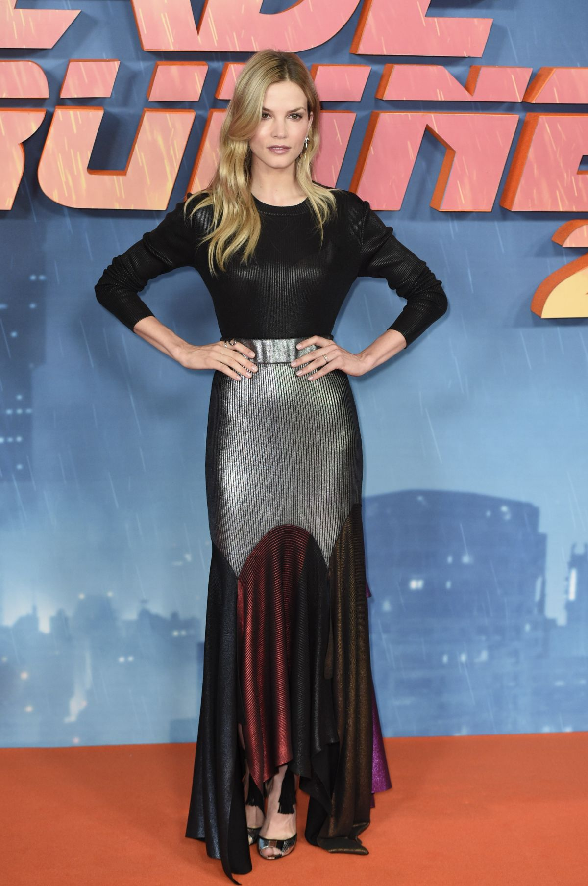 Sylvia Hoeks At Blade Runner 2049 Photocall In London