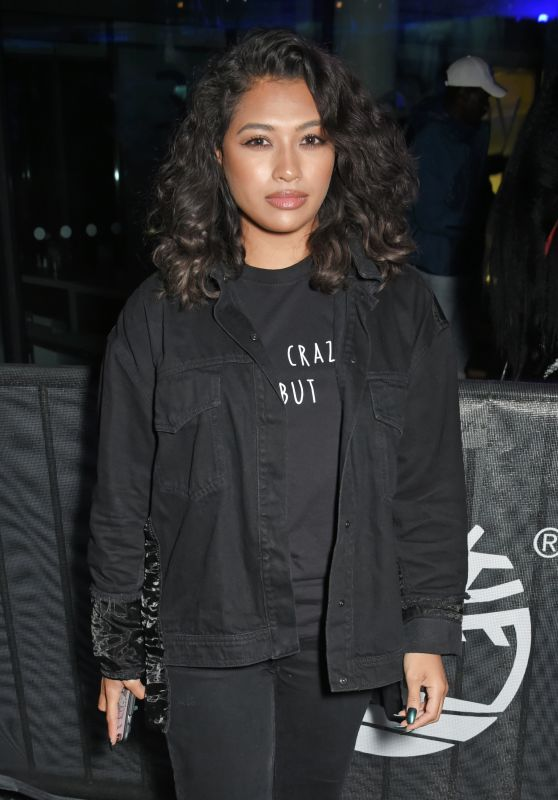 Vanessa White Attends the launch of the Timberland Flyroam sneaker at The Scoop ,London