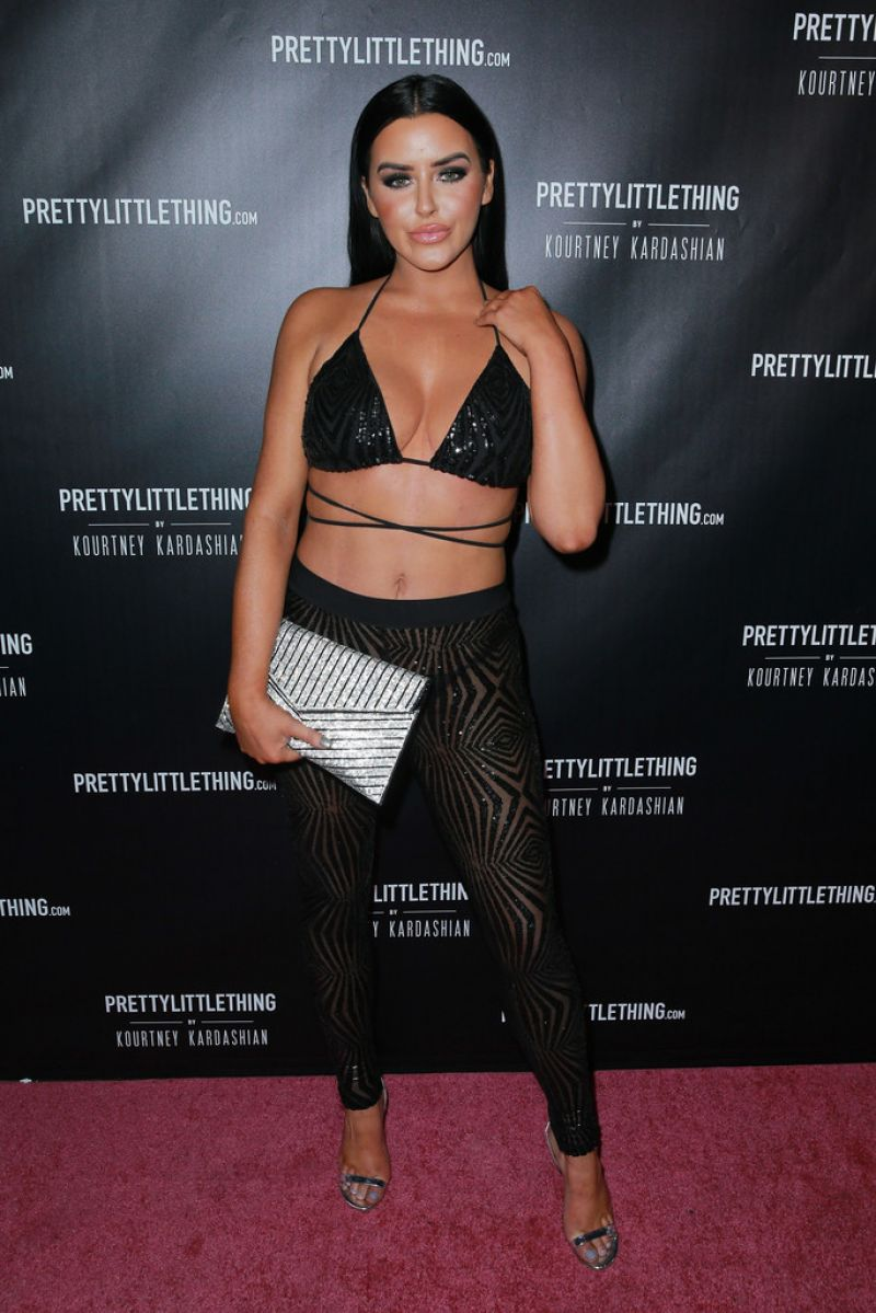 Abigail Ratchford At PrettyLittleThing by Kourtney Kardashian launch in Los Angeles