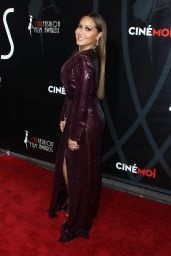 Adrienne Bailon At 4th Annual CineFashion Film Awards in LA