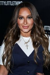 Adrienne Bailon At PrettyLittleThing By Kourtney Kardashian Launch held at Poppy, West Hollywood