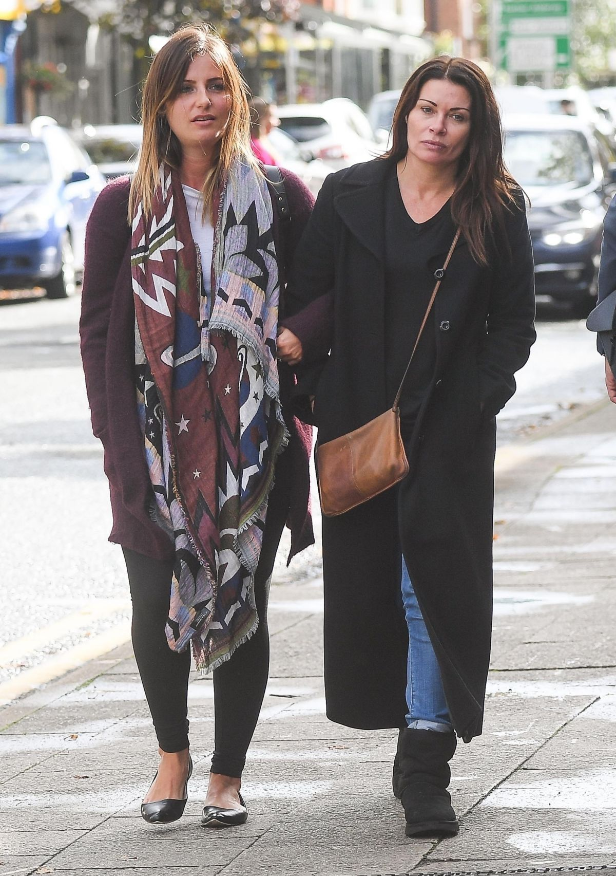 Alison king out with a female friend in alderley edge cheshire new picture