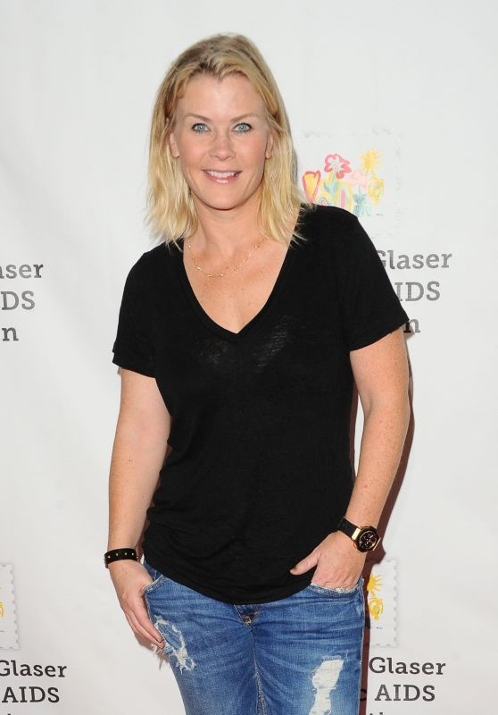 Alison Sweeney At The Elizabeth Glaser Pediatric AIDS Foundation