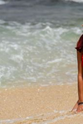 Amy Childs On the beach in Cape Verde
