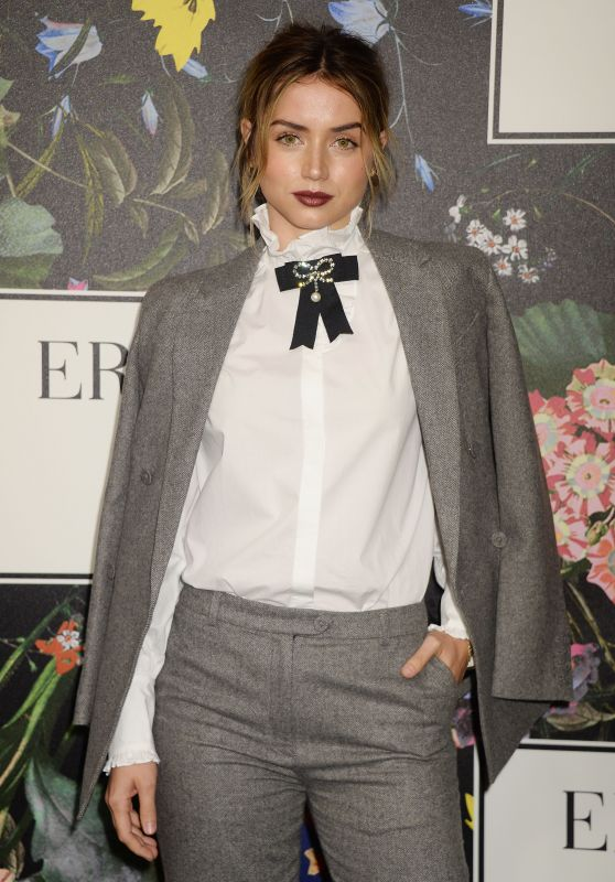 Ana De Armas At Erdem x H&M Launch event in Los Angeles