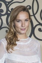 Ana Girardot At Givenchy show, Spring Summer 2018, Paris Fashion Week, France