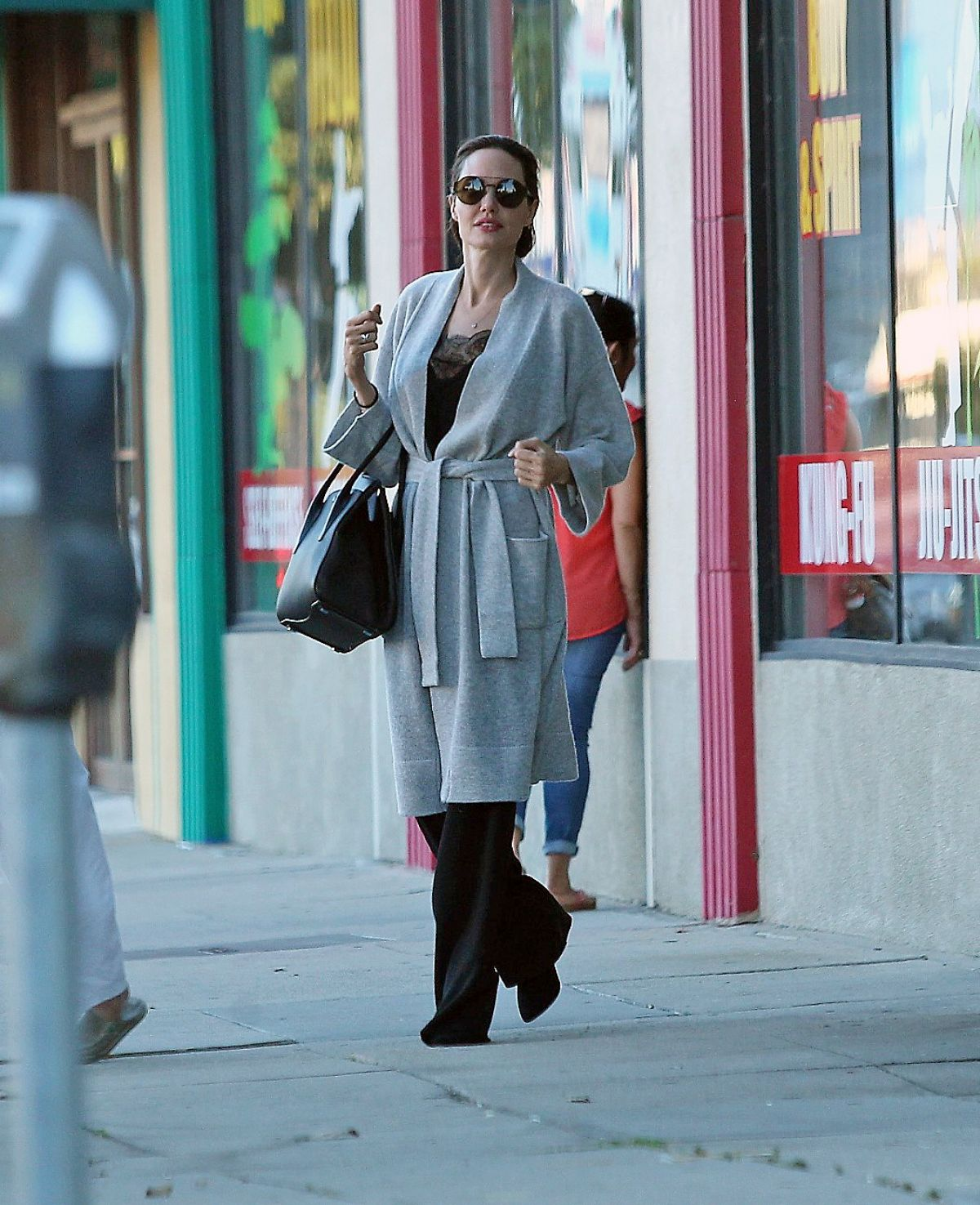 Angelina Jolie Out in in Los Feliz