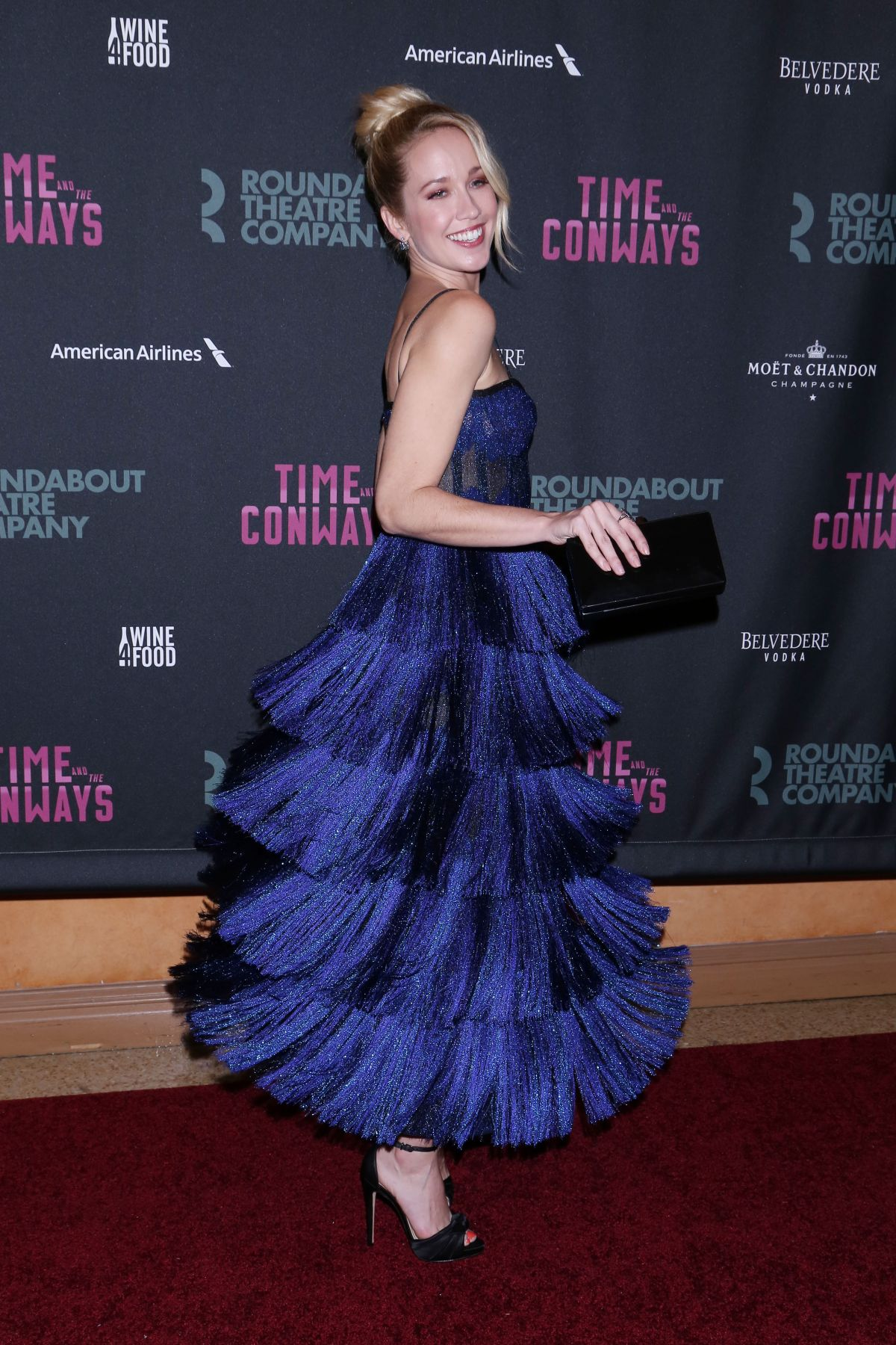 Anna Camp At 'Time and the Conways' Broadway Opening Night ...