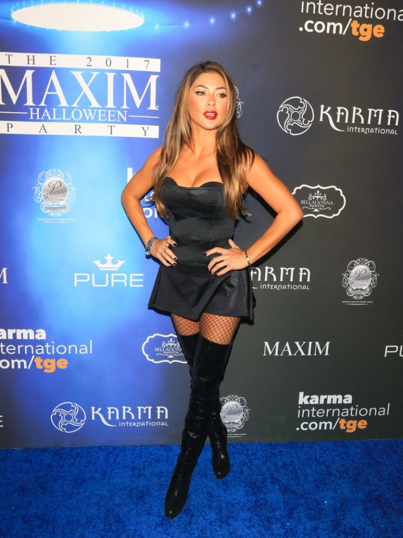 Arianny Celeste At Maxim Halloween Party in Los Angeles