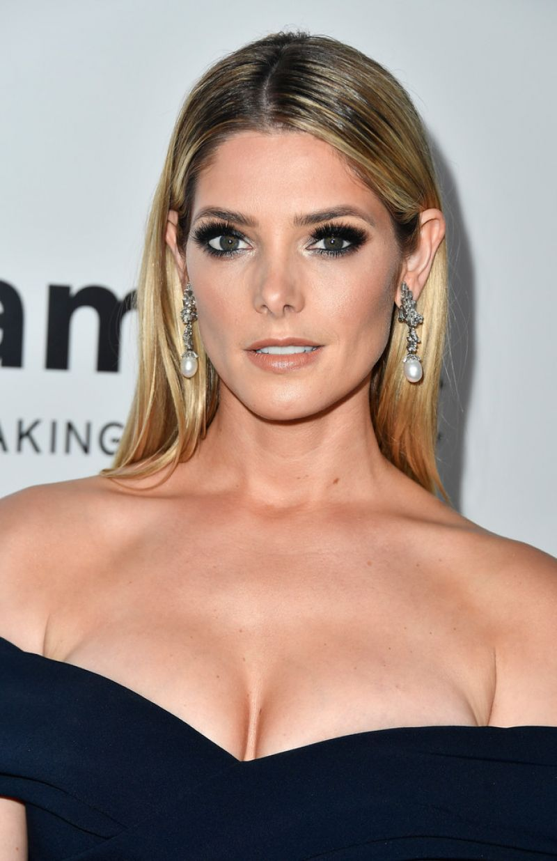 Ashley Greene At amfAR...