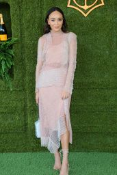 Ashley Madekwe At Eighth Annual Veuve Clicquot Polo Classic in Los Angeles