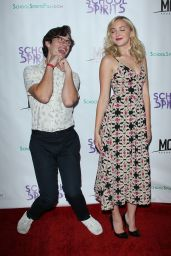 Audrey Whitby At School Spirits Premiere in LA