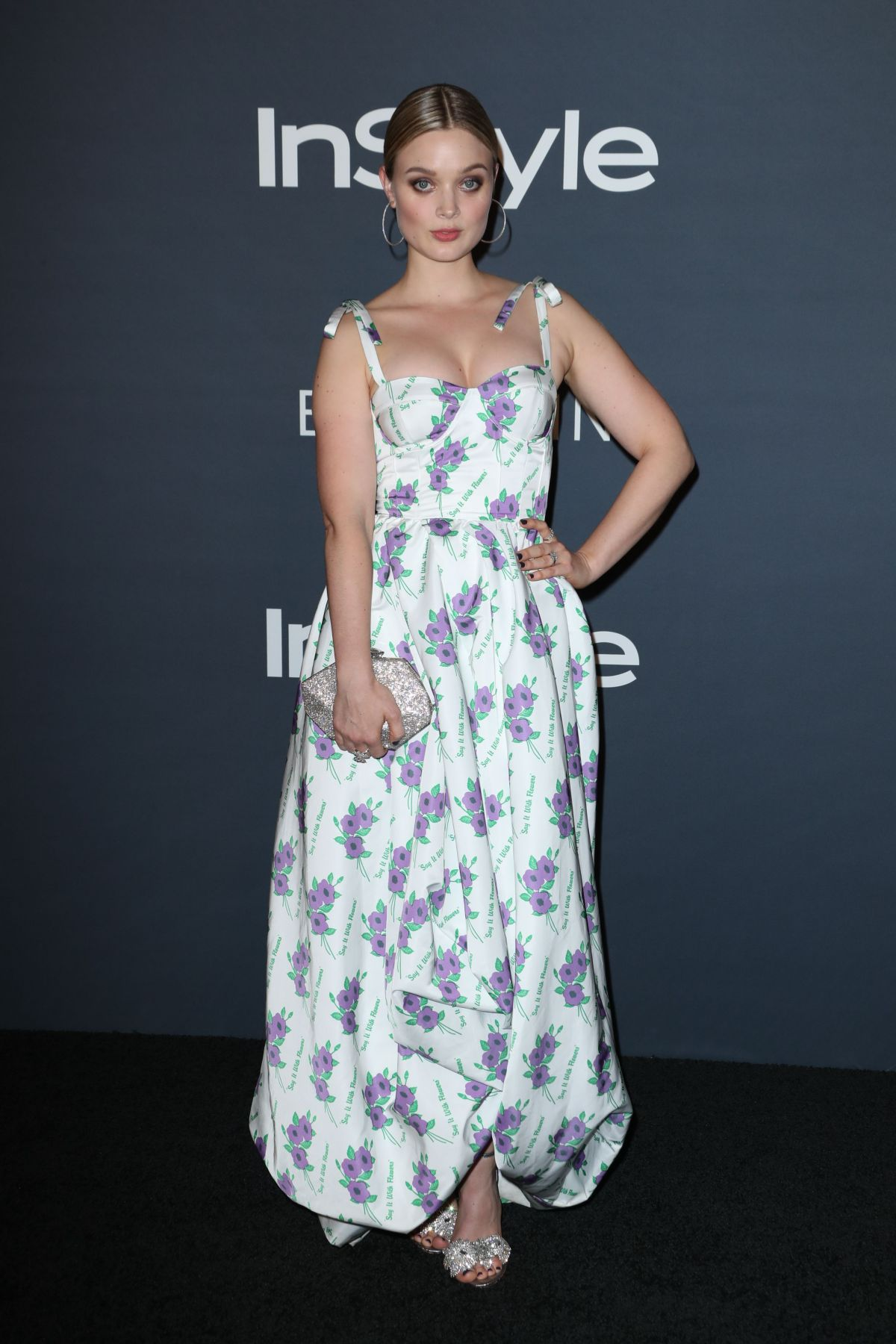 Bella Heathcote At InStyle Awards in Los Angeles