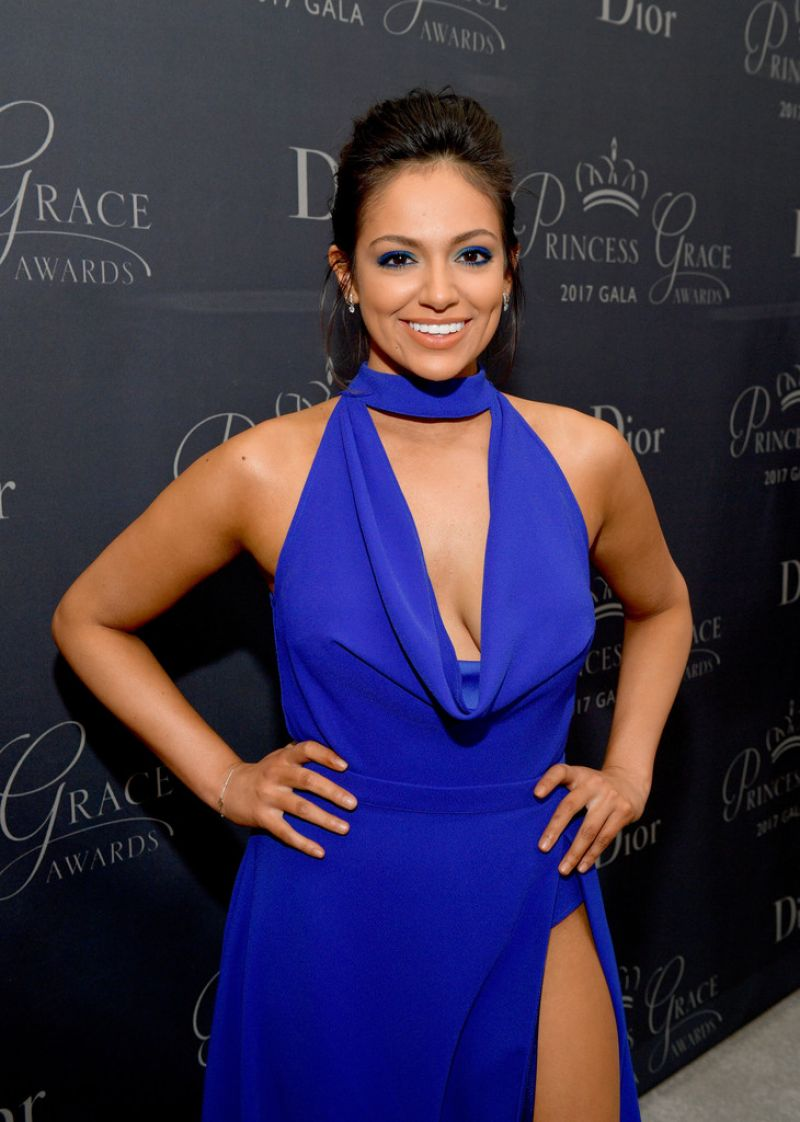 Bethany Mota At 2017 Princess Grace Awards Gala in Beverly Hills