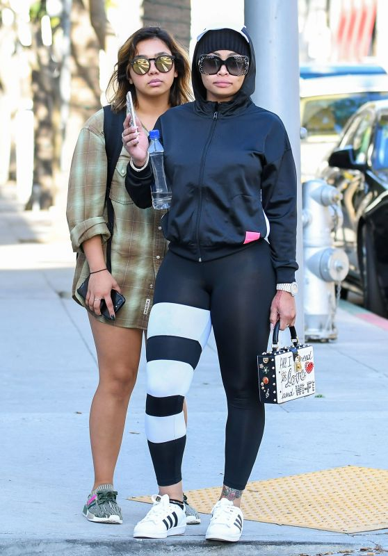 Blac Chyna Out in Los Angeles