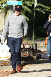 Bobby Flay and Helene Yorke out in The Hamptons