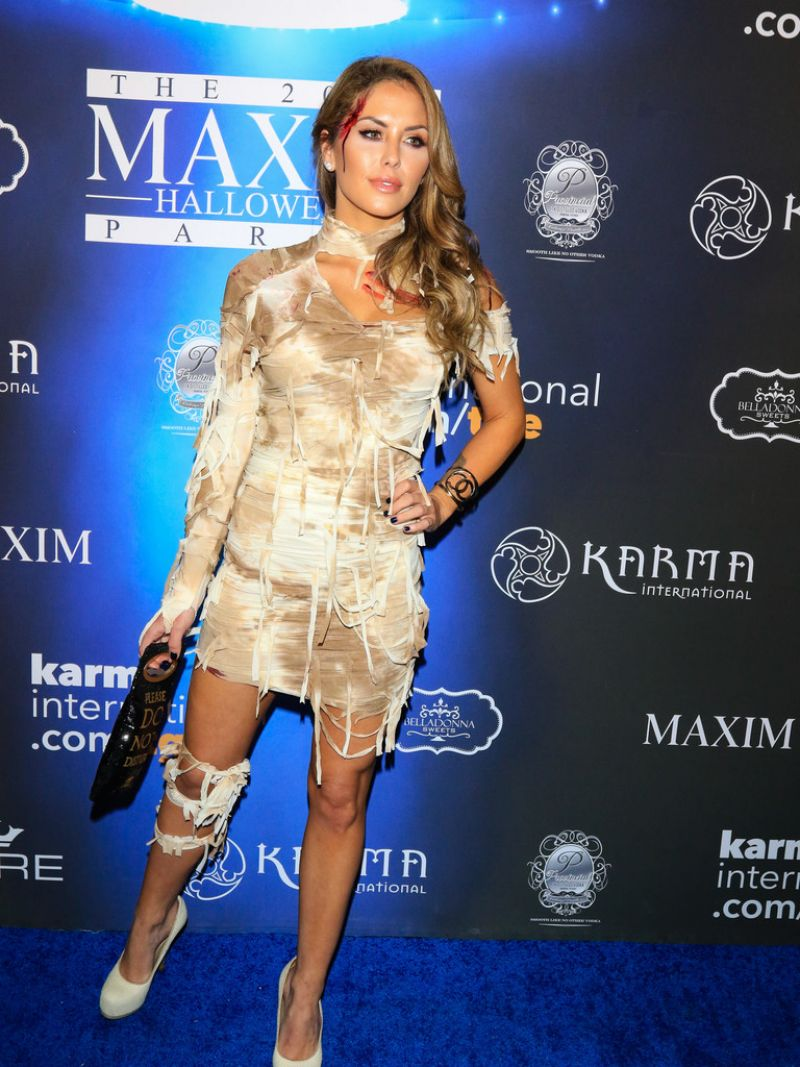 Brittney Palmer At Maxim Halloween Party in Los Angeles