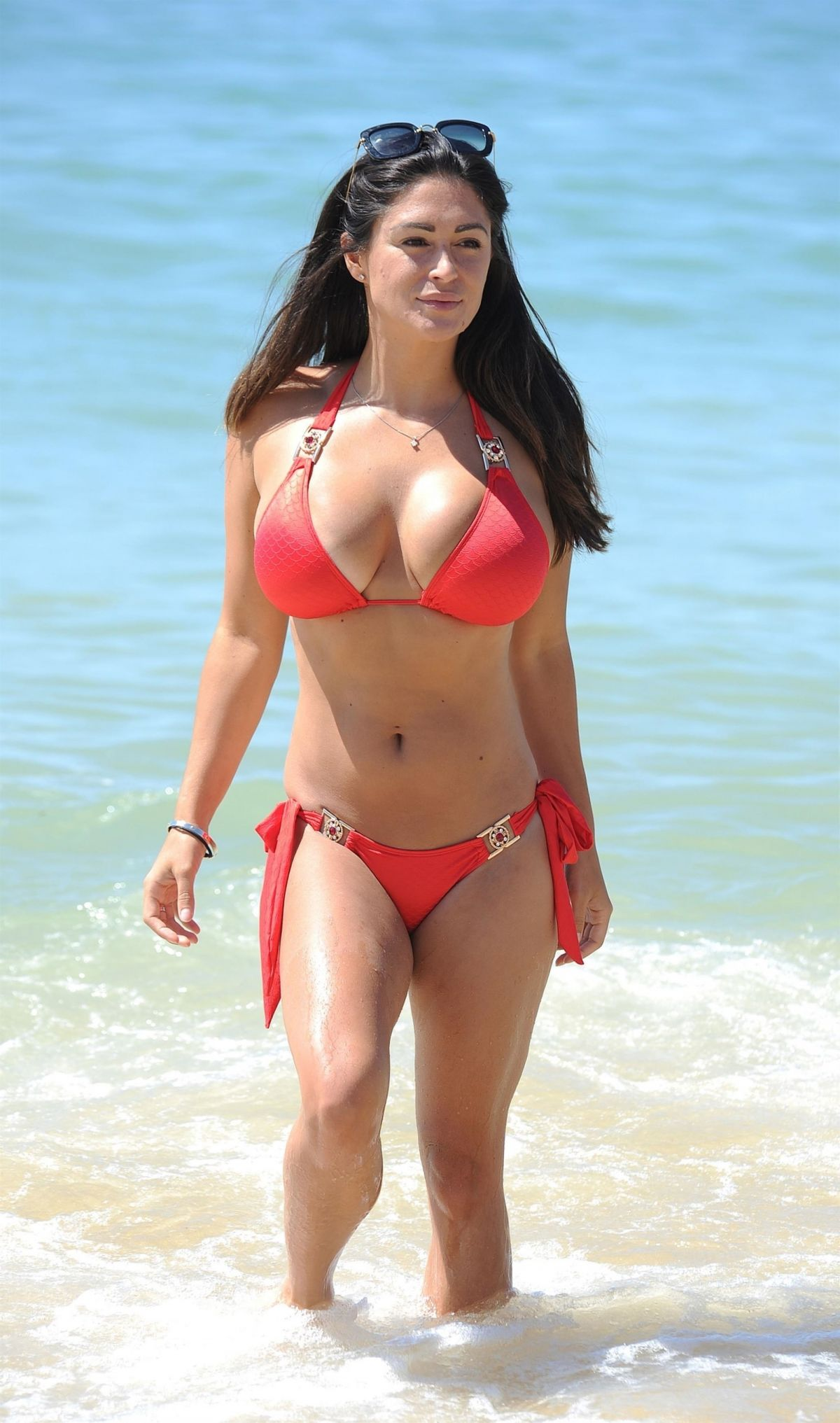 Casey Batchelor On the beach in Cyprus