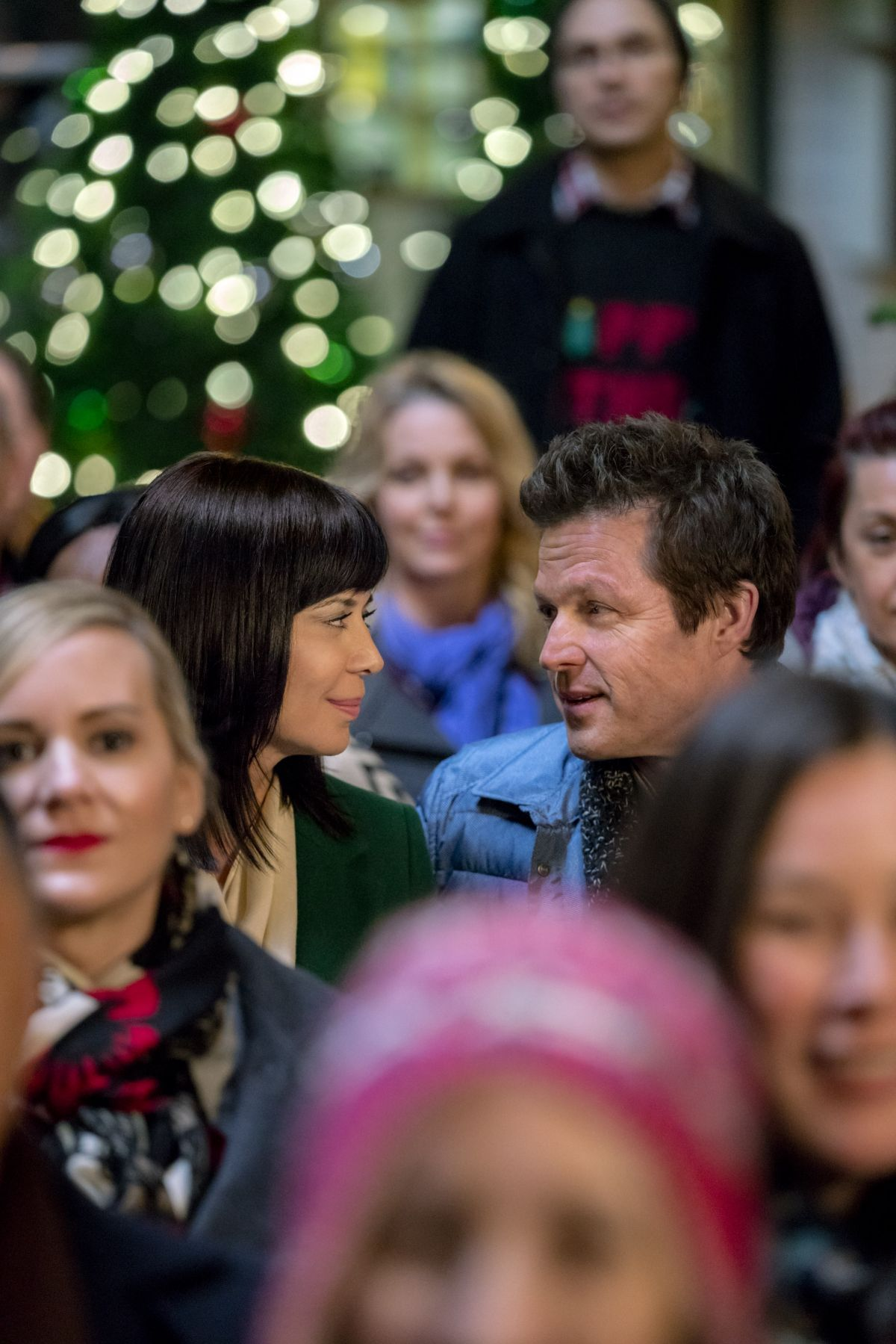 Christmas In The Air.Catherine Bell At Christmas In The Air 2017 Promos Stills