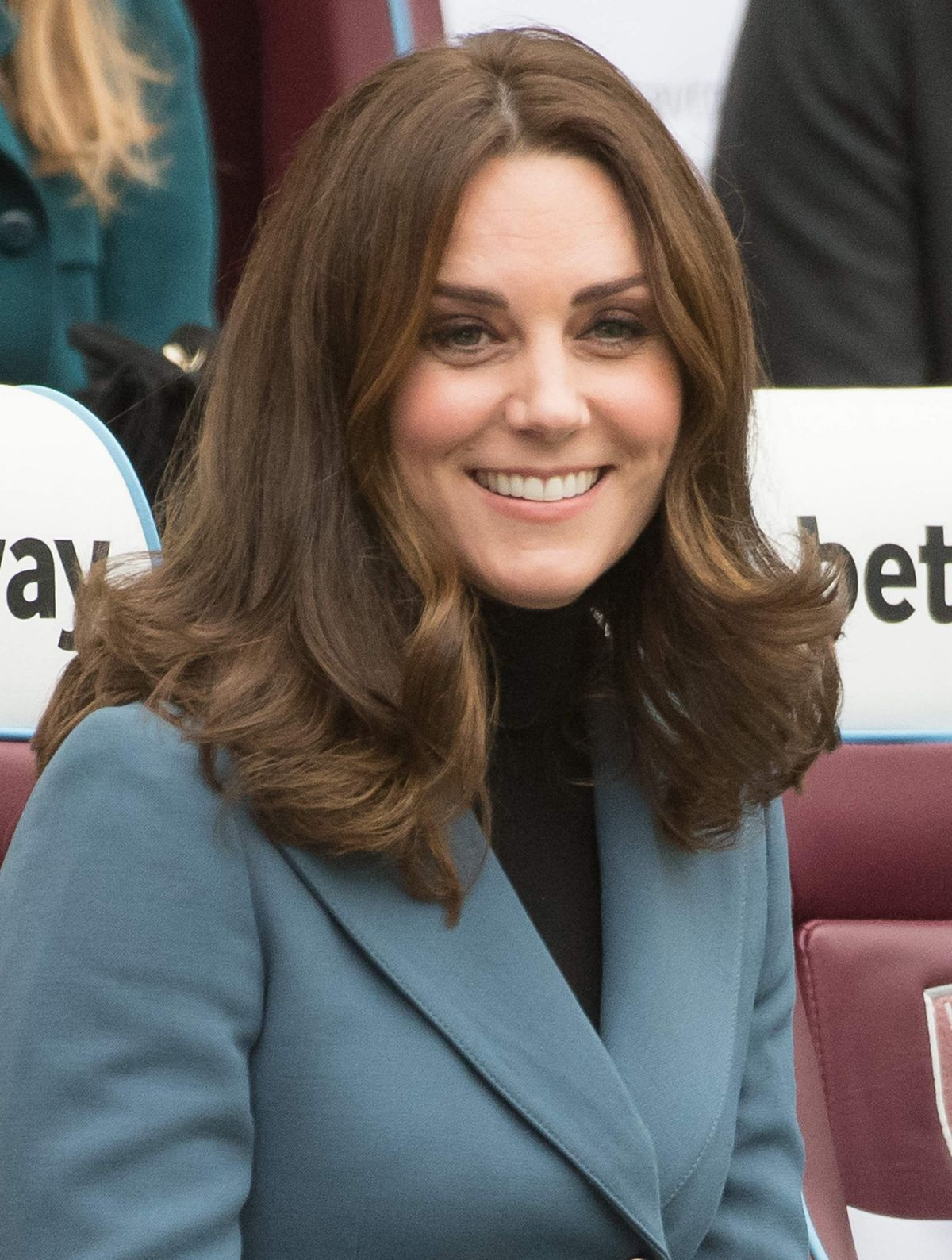 Catherine Duchess of Cambridge At Coach Core graduation ceremony in London